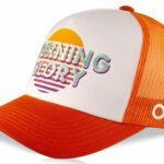 Casquette trucker modèle Hartley Orange